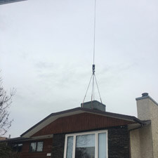 Crane Lifting Equipment for Residential Home